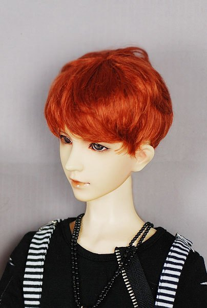1/3 1/4 1/6 BJD Doll Wig ultra-short zhengtai wool black gold brown red jerryberry - sd16 sd17 sd10 sd13 msd yosd unisex irregular long t shirt for bjd doll 1 6 yosd 1 4 msd 1 3 sd10 sd13 sd16 sd17 uncle luts dod as dz sd doll clothes cwb7
