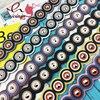 New Arrival Pu Leather Stitching Circle Pattern Silver Rivet Ladies Handbag Accessories Bag Shoulder Strap Belt