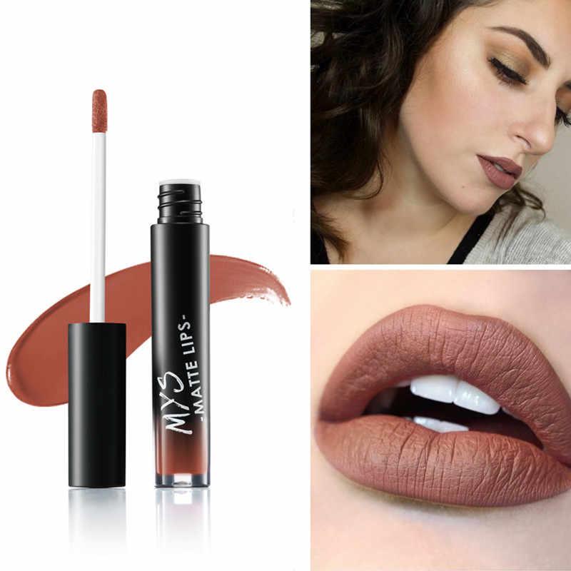 איפור נוזלי גוון שפתון חם סקסי צבעים שפתיים מט batom שפתון עמיד למים לאורך זמן גלוס שפתיים ערכת חום עירום צבע