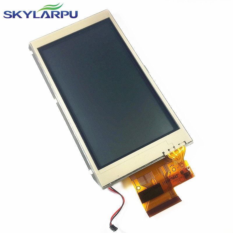 skylarpu 4.0 inch LCD screen for GARMIN MONTANA 600 600t Handheld GPS LCD display Screen with Touch screen digitizer Repair handheld game 3 inch touch screen lcd displays 4 way cross keypad polar system