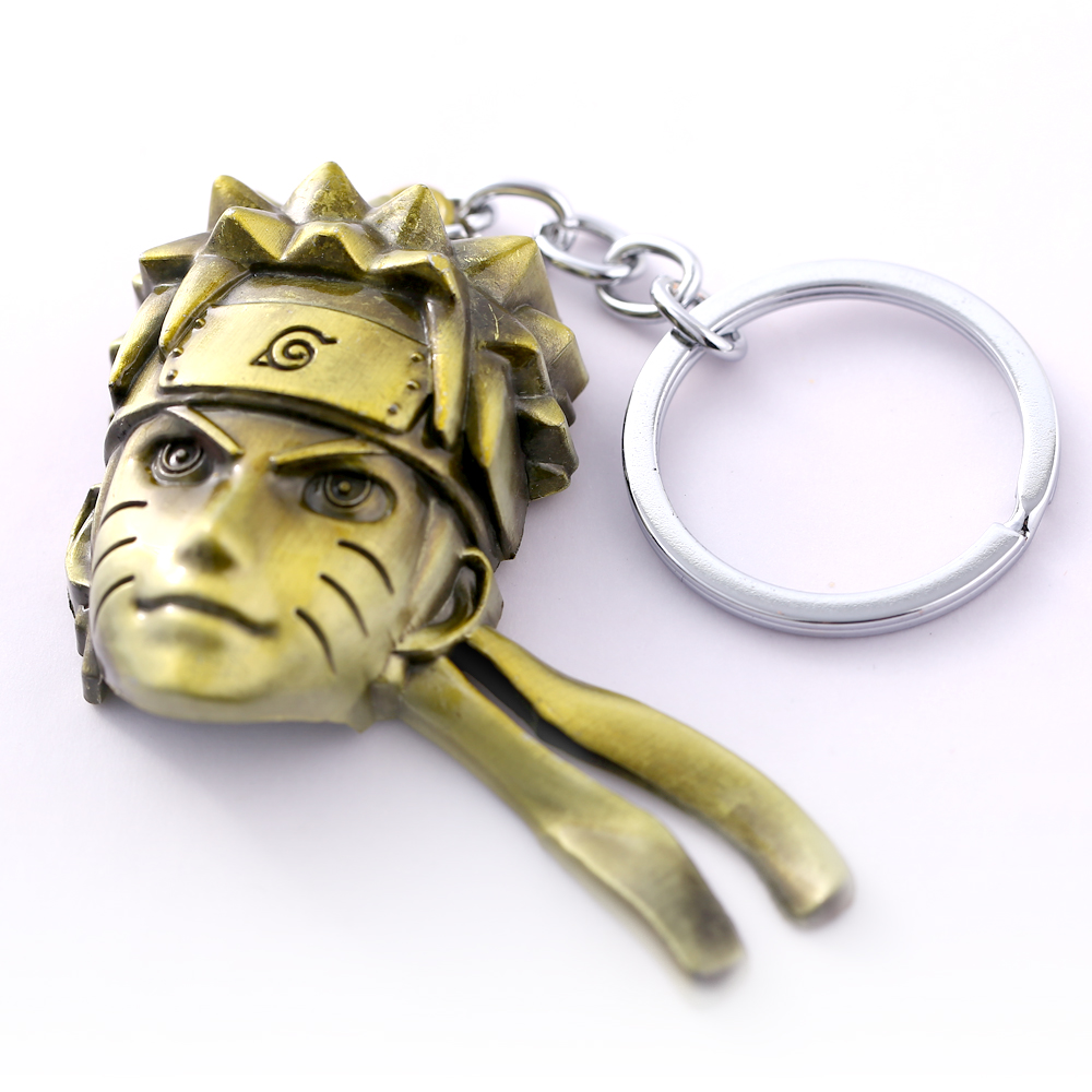 Uzumaki Naruto Key Chain Hot Anime Key Rings For Gift Chaveiro Car Keychain Jewelry Game Key Holder Souvenir YS11097