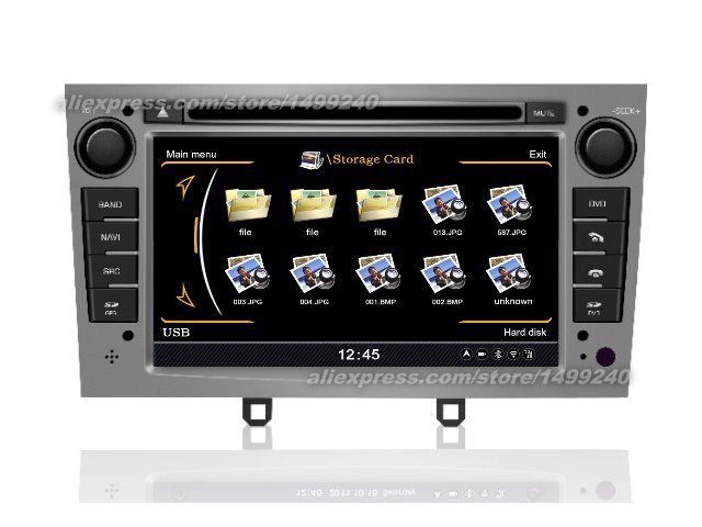 Car Stereo Radio For Peugeot RCZ 2011 2012 2013 Car GPS Navigation System CD DVD Player HD Screen Android Multimedia System|navigation system|gps navigation system|gps navigation - title=