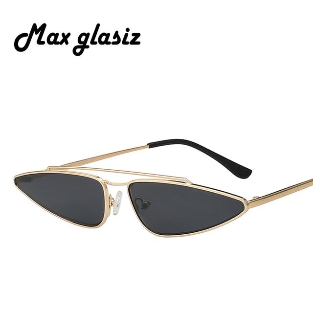 1da0deb689 Newest 2018 Fashion Cat Eye Sunglasses For Women Men Brand Unique Vintage  Style Metal Frame Sun Glasses gafas de sol