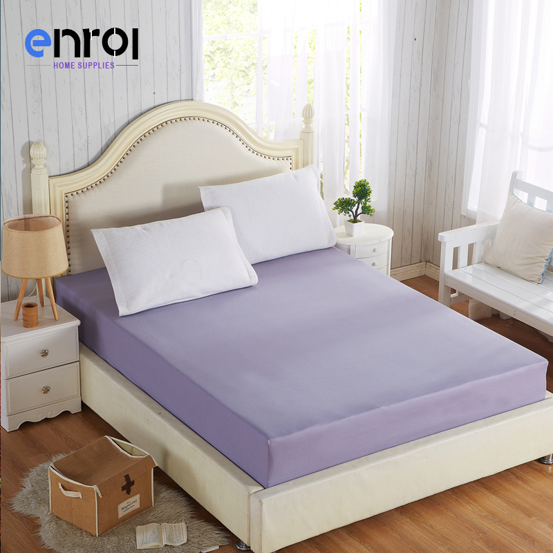fitted bed sheet queenking size solid color cotton 600tc single bed fitted sheets for women new arrival