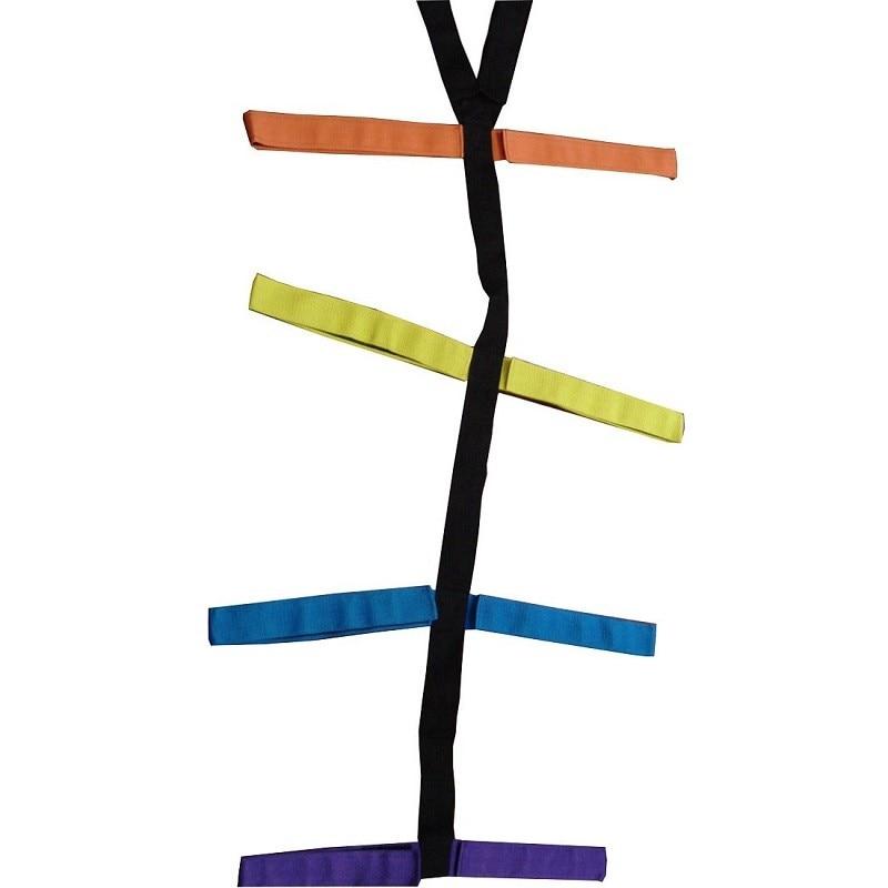 Medical spider type spine board strap