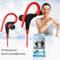 Running Sports Ear Hook Earphone Super Bass Earphones Music Headset Hifi Earbud 3.5mm aux for Phone MP3 Computer fone de ouvido