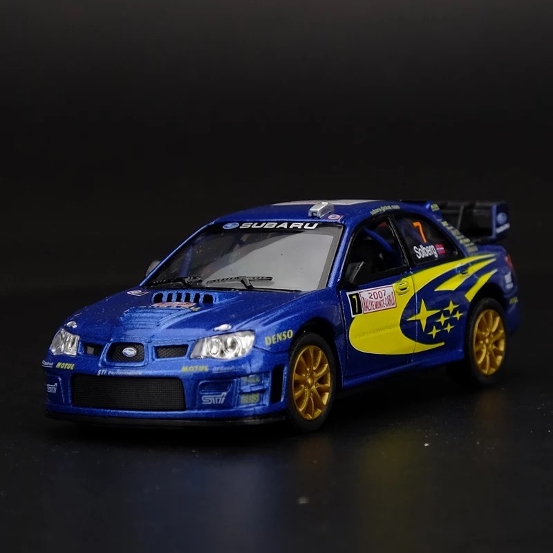 Subaru WRC Racing 1:36 Alloy Sports Car Model Child Toy