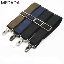 MEDADA 3.8CM Wide Men And Women  Shoulder Strap For Handbag Adjustablemale Computer Briefcase Laptop Bag Straps