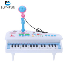 31 Keys Multifunctional Mini Simulation Piano Toy Electrical Keyboard Electone Gift for Babies Children Kids(China)