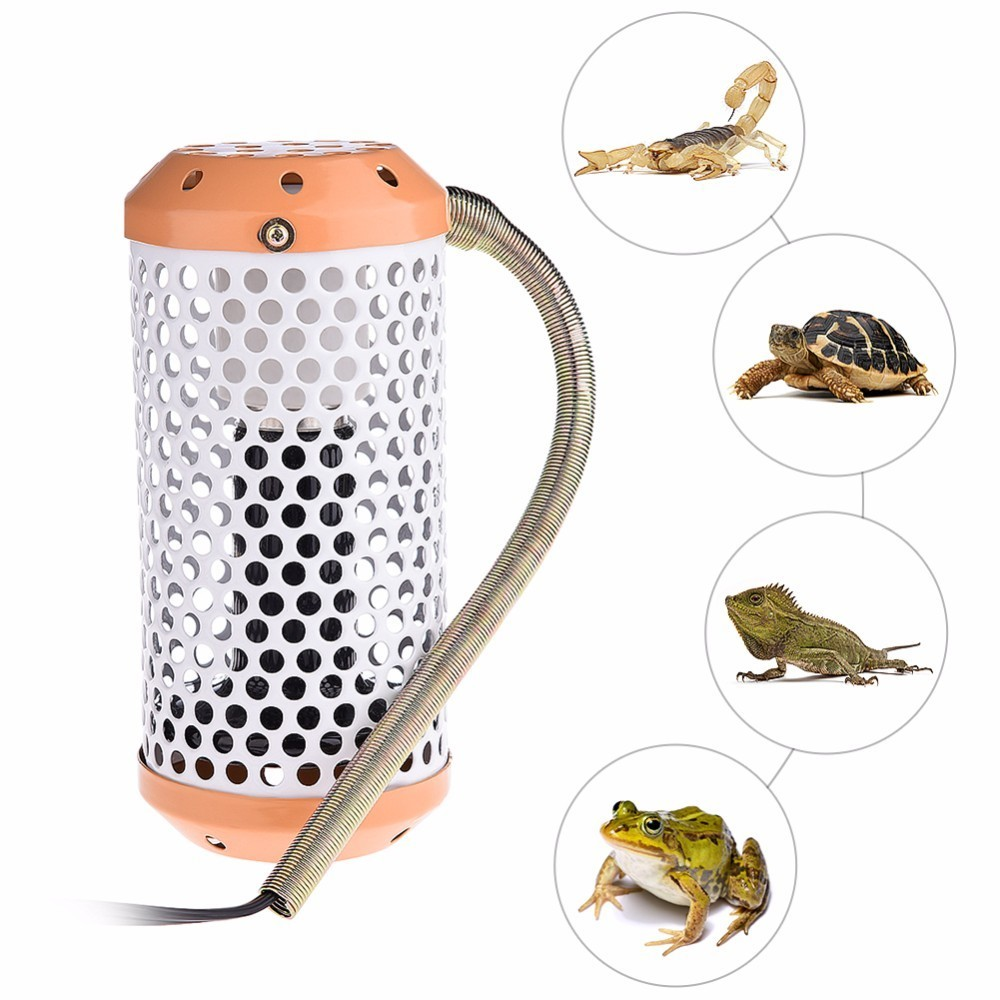 Pet Reptiles Infrared Heating Lamp UV Ceramic Heat Preservation Lights 40W / 100W Infrared Ceramic Emitter Heat Light Lamp Bulb