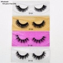 ฟรีDHL 100 คู่Visofreeขนตา 3D Mink Lashes Handmade Mink Lashes Dramatic 68 รูปแบบโหดร้ายฟรีReusable Lashesขายส่ง
