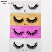 Free DHL 100pairs Visofree Eyelashes 3D Mink Lashes Handmade Mink Dramatic Lashes 68styles cruelty free reusable lashes wholsale
