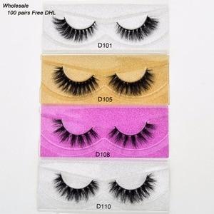 Image 1 - Free DHL 100pairs Visofree Eyelashes 3D Mink Lashes Handmade Mink Dramatic Lashes 68styles cruelty free reusable lashes wholsale