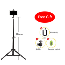 Promo offer CY 1 pcs portable Camera Phone Professional universal live self-timer Mobile tripod Retractable adjustment With remote control