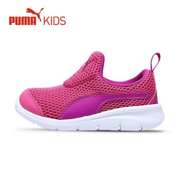 Original PUMA Girls Kids Air Mesh Running Shoe Summer Spring Baby Girl  Lightweight Sports Sneakers Jogging Outdoor Shoe 45dd1b1534554