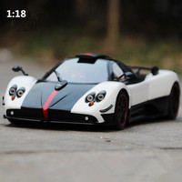 High simulation Pagani Zonda car model 1:18 advanced alloy collection toy vehicle,diecast metal model,2 open doors,free shipping