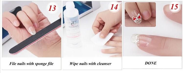 2018 профессиональные полный набор УФ-гель комплект ногтей дизайн комплект + 9 вт Verge уф-лампы сюр curining