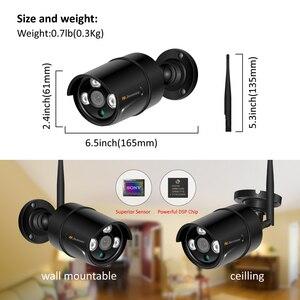 Image 2 - Jennov H.264 5MP 4CH Домашняя безопасность беспроводная камера системы видеонаблюдения набор камера наблюдения WIFI NVR Беспроводная 1080P IP камера наружная IR Cut