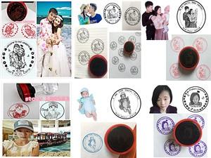 Image 3 - 5CM עגול רגיש חותם דקורטיבי אוהבי מזכרות תמונה חותמת אישית מותאם אישית חתונה מתנה עבור הזמנה