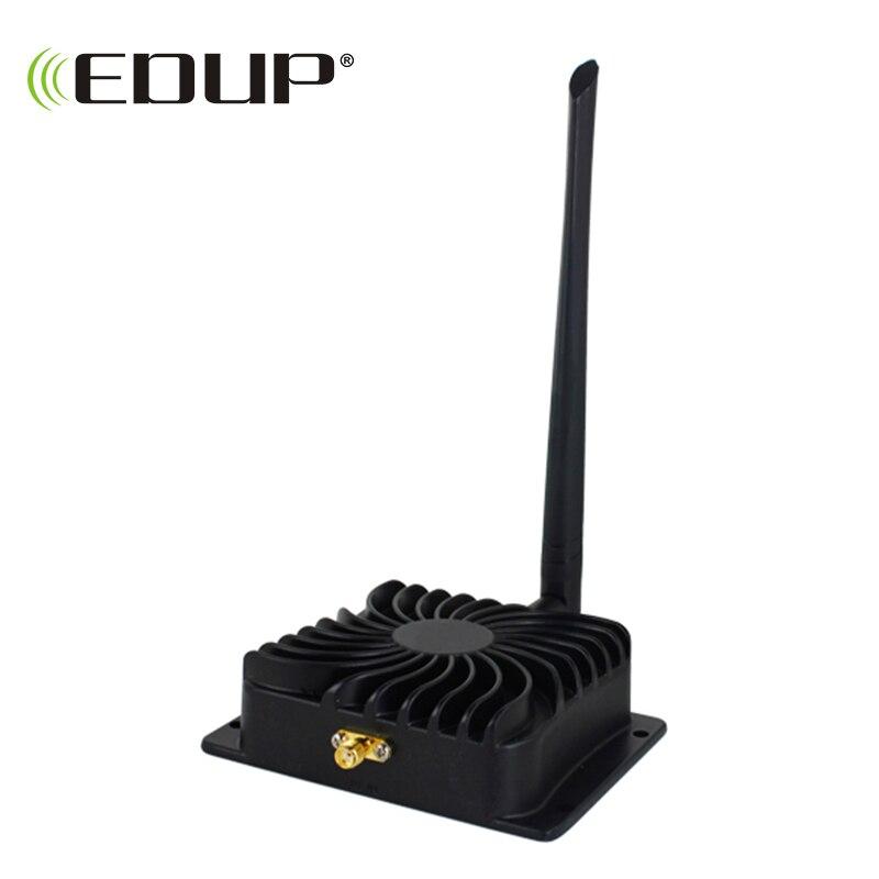 EDUP EP-AB003 2,4 ГГц 8 Вт 802.11n Беспроводной Wi-Fi усилитель сигнала повторитель широкополосные усилители для беспроводного маршрутизатора беспровод...