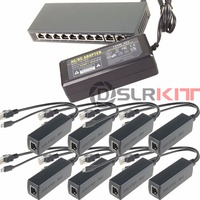 250M EXTEND PoE Kit For 8x Raspberry Pi B B 2 3 Micro USB 5V 2