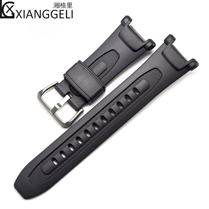 Watch accessories for CASIO PRG-40 / PRG-240 resin rubber strap casio prg 300cm 4e