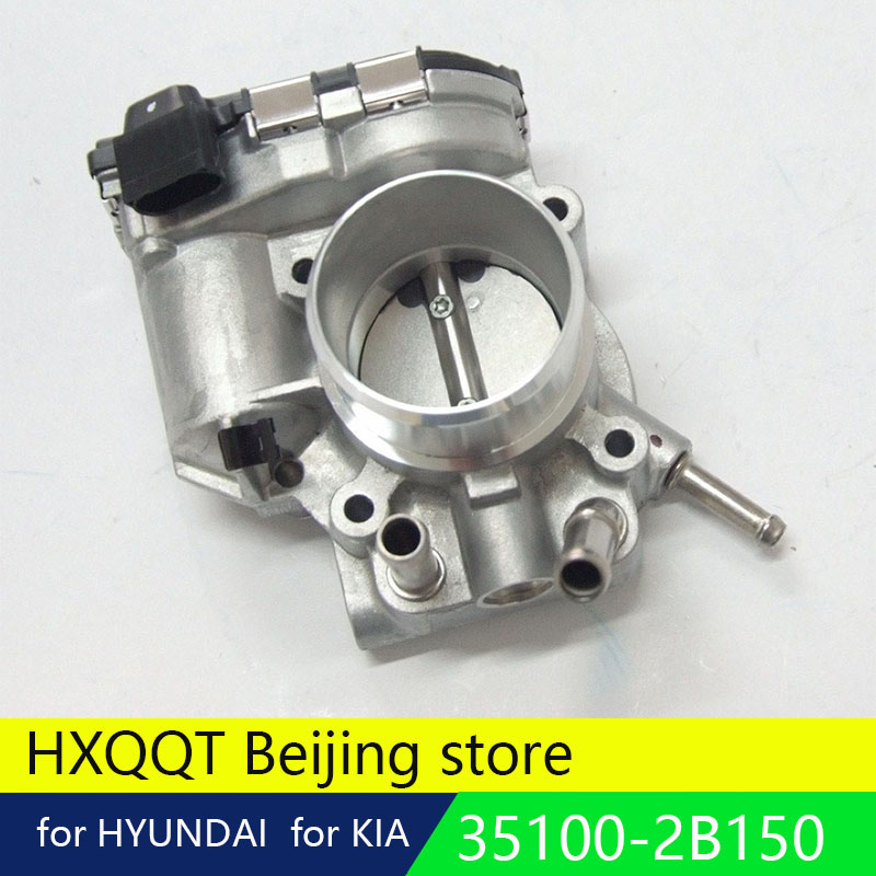 US $82 8 8% OFF|Genuine Throttle Body for KIA K2 Rio OEM 351002B150 35100  2B150 air intake 44mm For Hyundai I30 Accent-in Throttle Body from