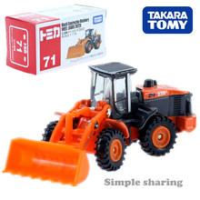 Tomica No 71 Hitachi Construction Machinery Wheel Loader Excavator TAKARA TOMY Mobil Motor Kendaraan Diecast Logam Model Mainan Baru(China)