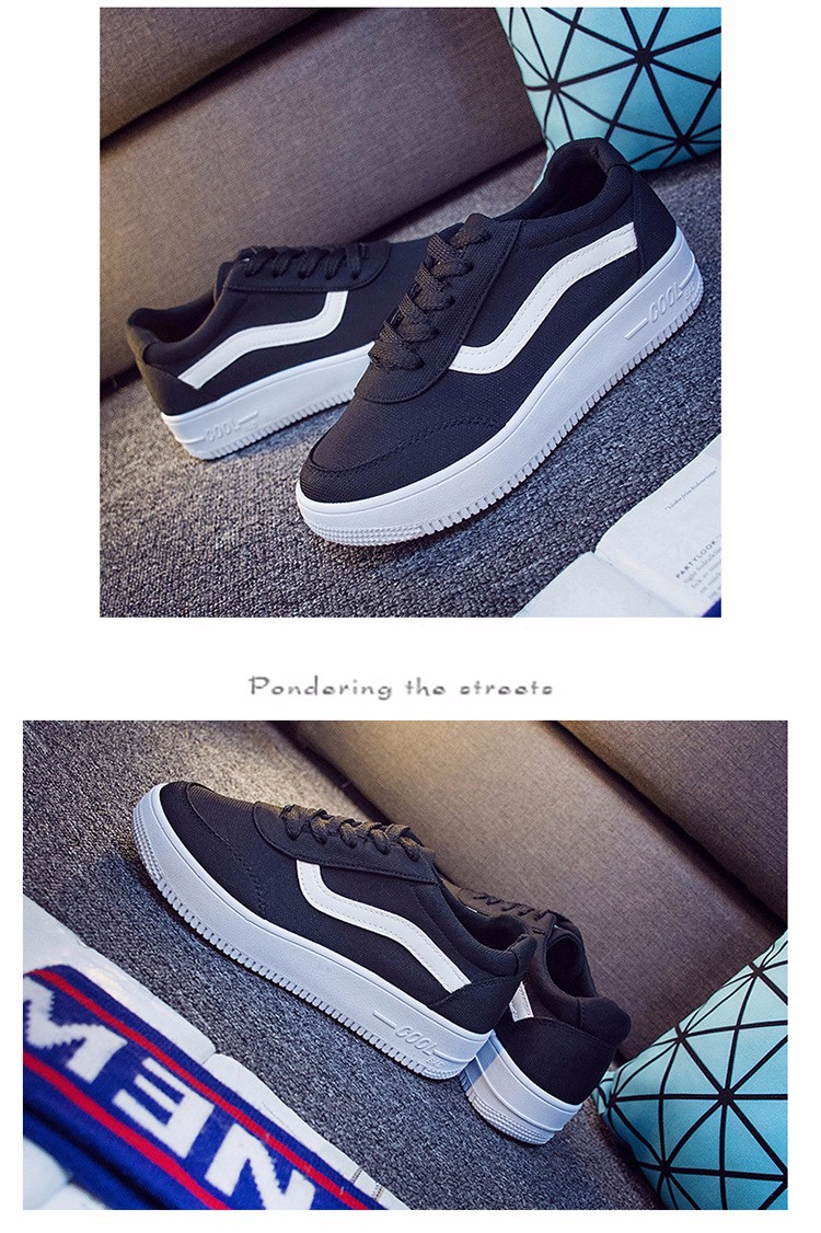 Free Shipping 2016 New Fashion Women Casual Shoes Comfortable Lace-up Woman Flats Classic Round Toe Sports Shoes ST427 (11)