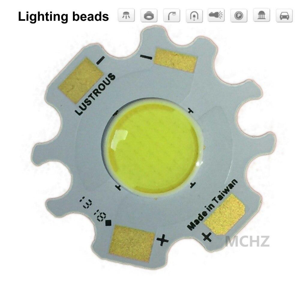 40 pçs led lente colóide cob 1000ma chip lâmpada 20 w led chip dc ac 20.4 v entrada diy para contas holofotes branco quente branco frio