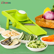 Manual Integral Blade Vegetable Cutter Mandoline Slicer For Potato Julienne Carrot Cheese Grater Kitchen Accessories Gadgets