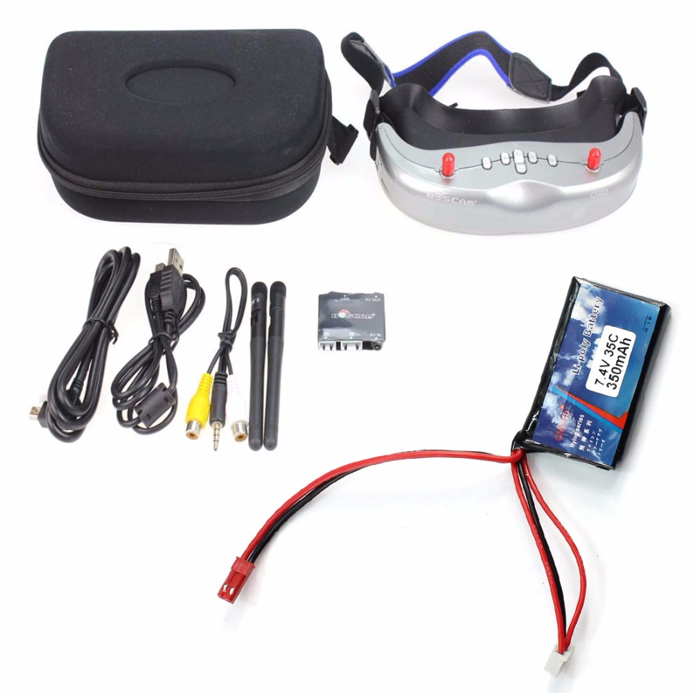 DIY RTF Racer 190 FPV Drone F3 Flight Controller Camera GOGGLE Glass RC Multicopter Helicopter