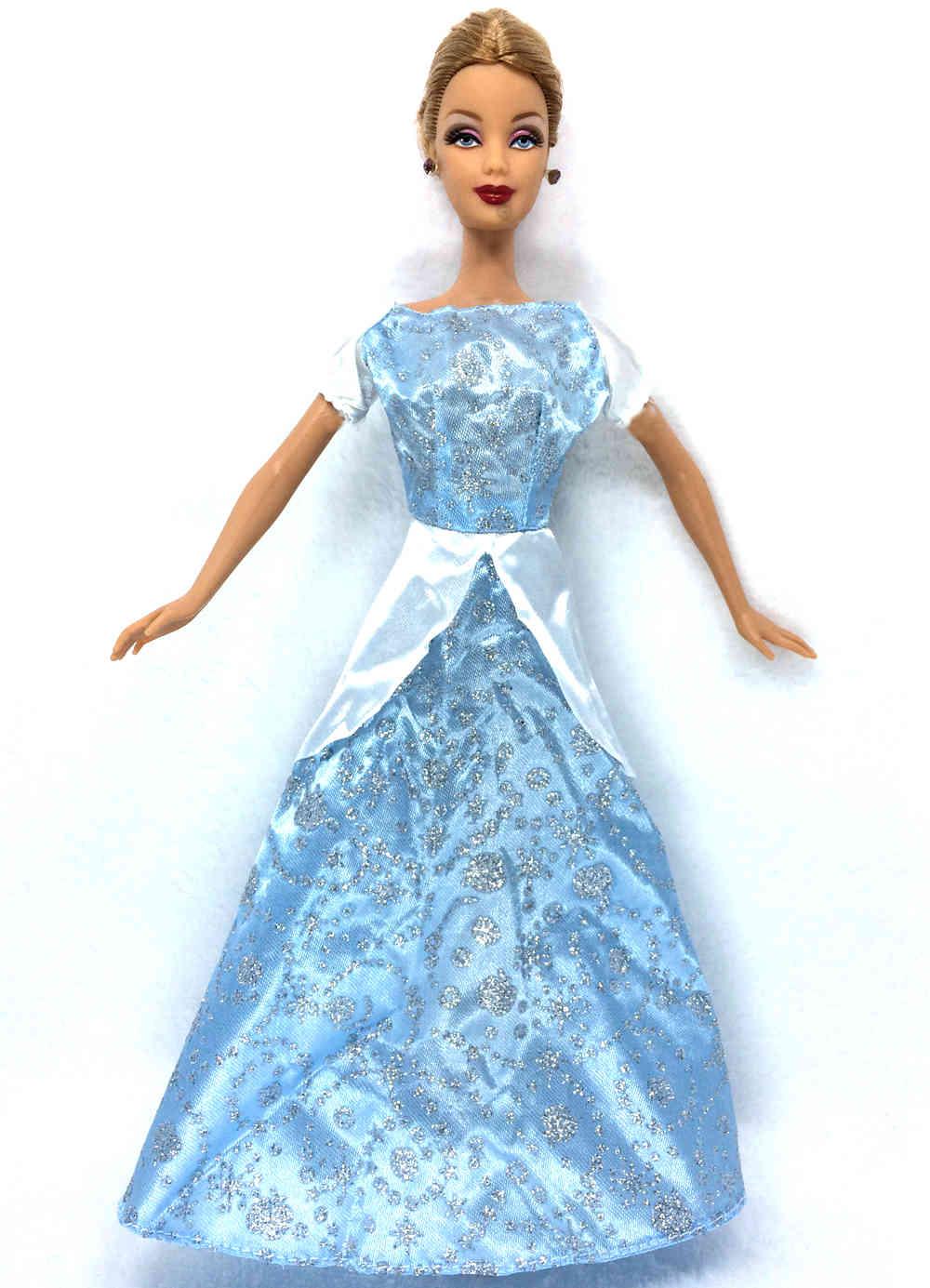 Robe barbie blanche neige