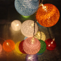 color Cotton light BALL toy FAIRY PARTY WEDDING light toy