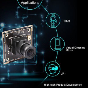 Image 5 - 1080P Full HD SONY IMX322 faible éclairage 0.01Lux CMOS H.264 AEC AEB AGC Support CCTV carte PCB USB caméra Module avec Audio