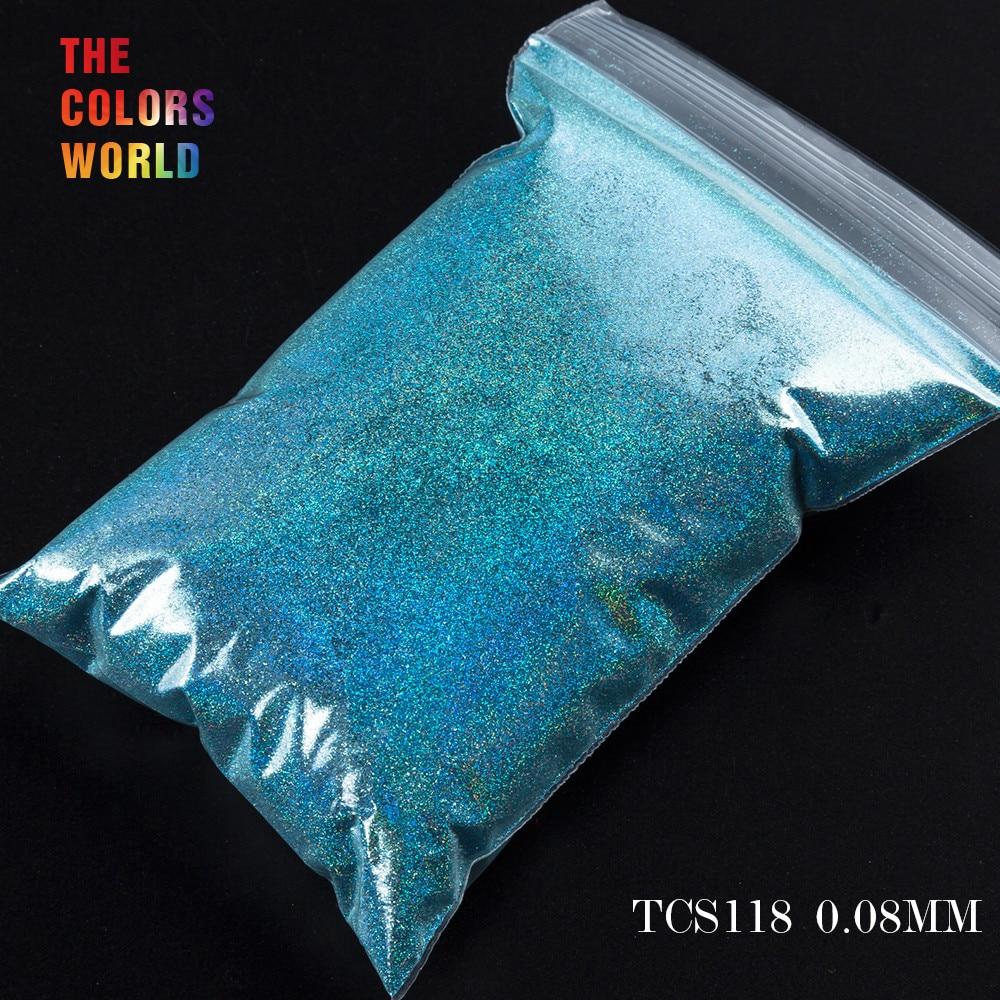 TCT-070 голографическая цветная устойчивая к растворению блестящая пудра для дизайна ногтей Гель-лак для ногтей тени для макияжа