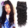 Alimice Hair Burmese Water Wave Virgin Hair 3Bundles Wet n Wavy Burmese Virgin Hair Natural Curly Weave Human Hair Extensions