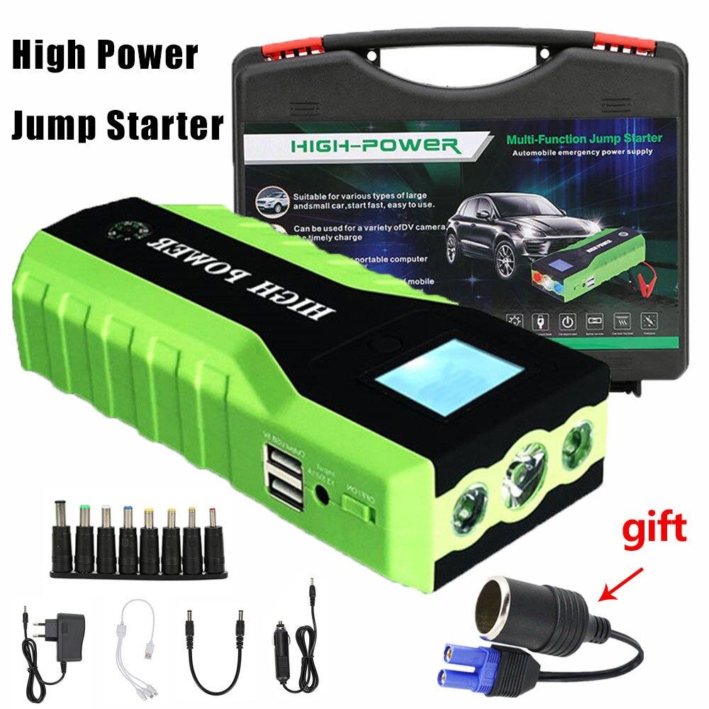 Hohe Kapazität Auto Starthilfe power bank für Auto Motor Fahrzeug Booster Starter jumper Batterie Ausgangs Gerät Für Benzin diesel