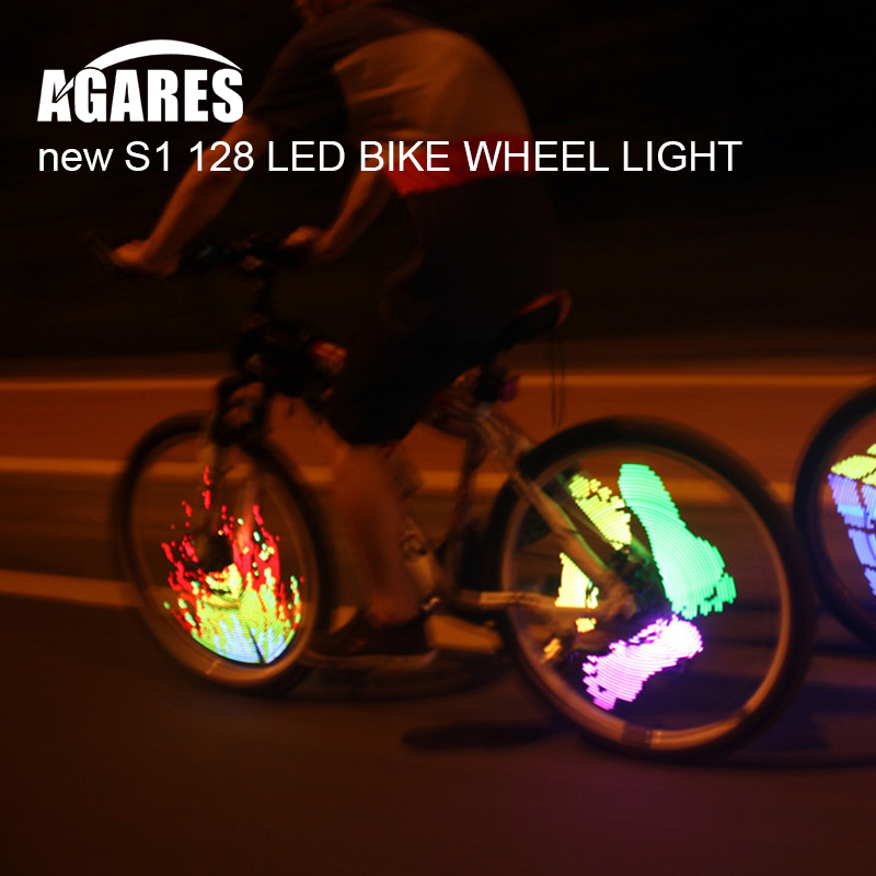 Bicycle Wheel LED Lights Smart Bluetooth Intelligent Control Wheel Light Bike Wheel Spoke Lights Waterproof for Phone y737-9 outerdo 1 pair ipx5 waterproof intelligent mtb cycling light led bicycle hub light smart rechargeable bike wheel spoke diy light