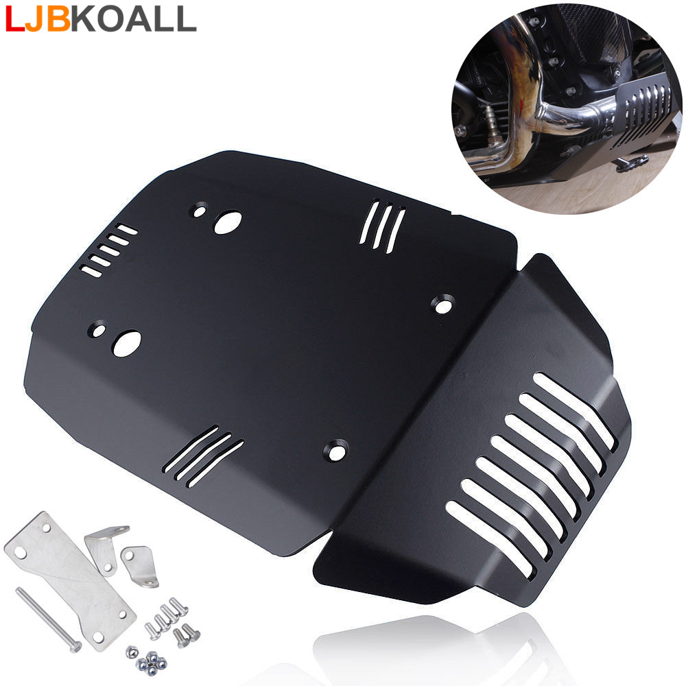 Skid Plate Bash Plate Engine Guard Protector For BMW R Nine T Pure Racer  Urban G/S Scrambler R9T 2014 2015 2016 2017 2018 2019