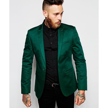 New Arrival Custom made Men Suit Set Slim Wedding Suits Mens Green Groom Tuxedos Homecoming Suit( jacket+Pants)