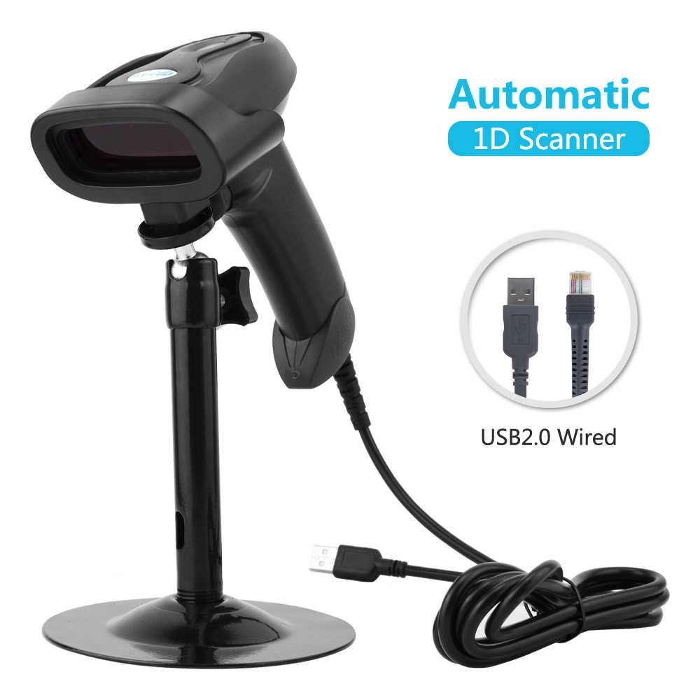 NT-1698LY портативный Bluetooth 1D беспроводной сканер штрих-кода и NT-1228 ручной проводной USB 2D считыватель штрих-кода для POS и инвентаризации