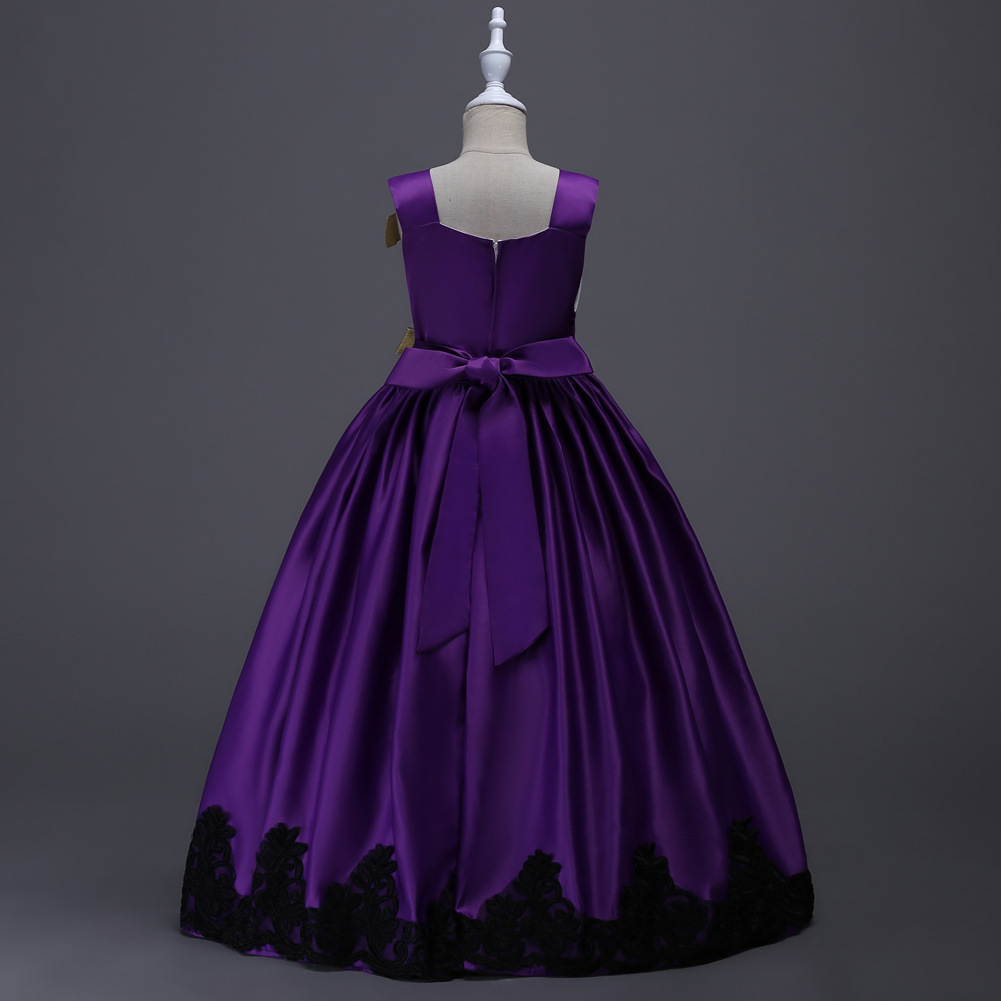 Hochzeit Kleidung für 5 Bis 12 13 Jahre Kinder Elegante blume ...
