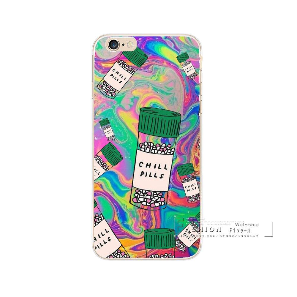 Ponsel Case Untuk Apple Iphone 5 S 6 7 Plus Ramuan Switch Dpdt 2 X 3 Dudukan Knop Cinta Pil Tenang Plastik Transparan Back Cover Fundas Shell