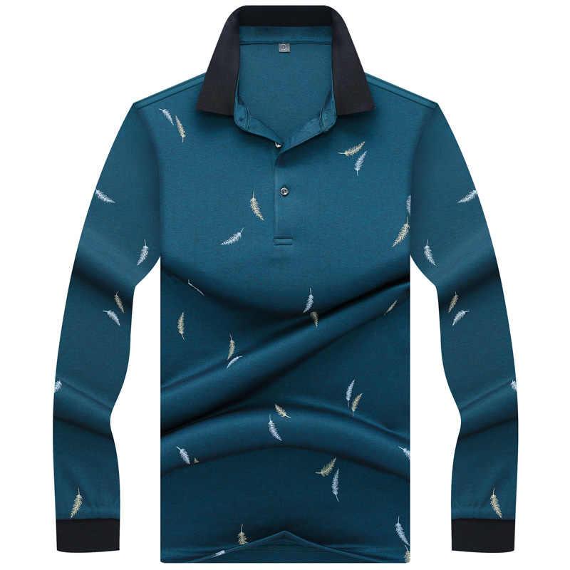 جديد الأزياء Tace و القرش قميص بولو الرجال كم طويل عالية الجودة القطن بلون الذكية عارضة الرجال قميص بولو