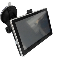 Car GPS Locator Tracker Navigation USB TF Card Connection Car MP3 Video Player 4.3-Inch TFT LCD Screen 4G Internal Memory