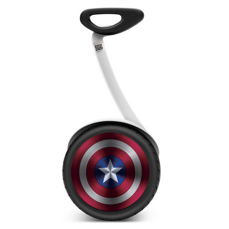 Xiaomi Ninebot Mini Pro Segway Balance Scooter Wheel Cover Stickers Captain America BMW Mercedes National Flag Stickers