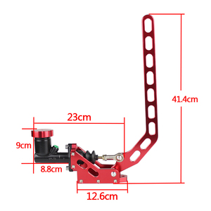 Image 2 - RASTP Aluminum Hydraulic Drift Hand Brake Racing Parking Handbrake Lever Gear With Locking Oil Tank RS HB917
