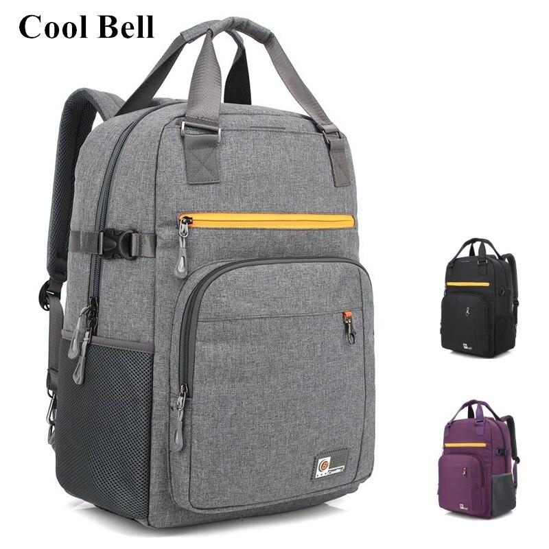 Coolbell Brand Shoulder Backpack For Laptop Bag15.6,17,17.3Notebook Bag,For Macbook 17,Travel,School Bag,Free Ship 5009 BP10