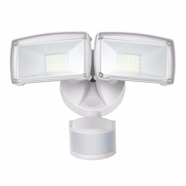 Gosun led motion sensor flood light waterproof ip44 2 head 22w 220v gosun led motion sensor flood light waterproof ip44 2 head 22w 220v120v outdoor workwithnaturefo